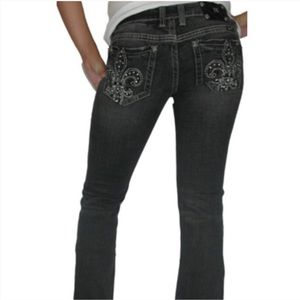 Miss Me Black Bootcut Jeans